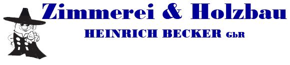 Zimmerei & Holzbau Heinrich Becker GbR